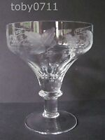 "WILLIAM YEOWARD CORDELIA 5⅜"" CHAMPAGNE/TALL SHERBET GLASSES (Ref692)"