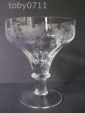"WILLIAM YEOWARD CORDELIA 5⅜"" CHAMPAGNE/TALL SHERBET GLASSES (Ref692)"