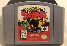 Pokemon Snap (Nintendo 64 1999) N64 Authentic Game Cart Tested Working
