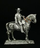 Spanish Cavalry Officer, 30 Years War KIT Tin toy soldier 54 mm. metal