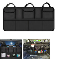 Universal Car Trunk Seat Back Net Storage Bag Drink Holder Pocket Organizer