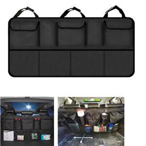 Universal Car Trunk Seat Back Net Storage Bag Drink Holder Pocket Organizer
