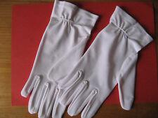 Paire de gants blancs pour mariage ou cérémonie (taille 8)