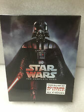 NEW Star Wars: Complete Saga episodes 1-6 Movie Box Set 9-Disc Blu-Ray NEW