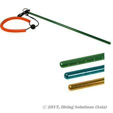 Scuba Diving 340mm Aluminum Lobster Tickler Pointer (Measurement) and Lanyard