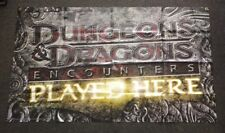 Dungeons & Dragons Encounters Played Here D&D Vinyl Banner 3'x5'