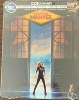 Captain Marvel 4k Ultra-HD + Blu-Ray Steelbook