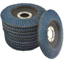 10 x disques zirconium 36 Grit meuleuse d'angle 4,5pouce 115 mm plat ponçage