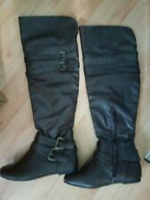 west blvd over knee boots 7