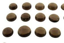 5 pezzi di 4mm Rotonda Cabochon Naturale Africano-Cut gemme di quarzo fumè £ 1 NR!