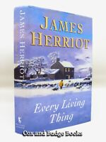 JAMES HERRIOT signed Every Living Thing 1992 1st/1st HB in Winter variant DW