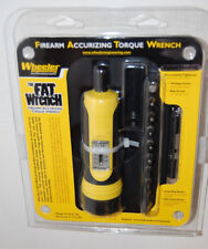 Wheeler Engineering FAT (Firearm Accurizing Torque) Wrench, 10 bit set