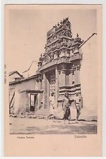 CPA CEYLAN - COLOMBO - HINDOO TEMPLE - DND
