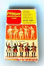 Preiser 57811 1:24; Prussian Soldiers1756