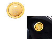 Gold Keyless Engine Push Start Button Cover For BRZ-Forester-WRX STI-Outback
