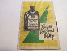 Etiquette allumette - ROYAL REGENT - Scotch Whisky - (115)