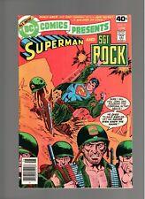 DC COMICS PRESENTS # 10   ( 1979 )    SGT.ROCK!   DC COMICS   SHARP COPY!