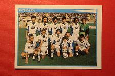 Panini Calciatori 1998/99 n. 548 PESCARA SQUADRA DA EDICOLA CON VELINA