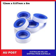 Teflon Tape white thread sealing water ptfe plumbing tape TeflonTape 12mm x 8m