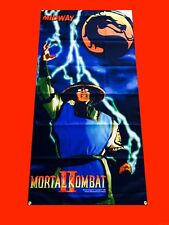 LARGE Mortal Kombat Arcade Video Game Banner Flag Poster