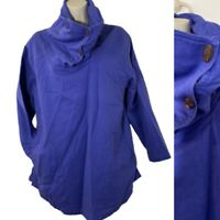 Soft Surroundings Womens PS Funnel Neck Pullover Sweater Pockets 3/4 Sleeve