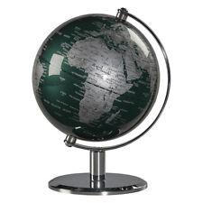 Wild & Wolf Fir Green & Chrome 6 Inch Globe - New Brand & Boxed - Free Postage