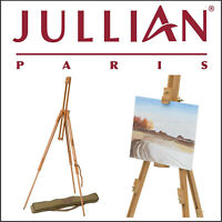 JULLIAN Artists Easel Wood Tripod Display Stand + Carry Bag Sketching Painting