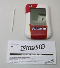 Techno Source Illuminated ELECTRONIC PHASE 10 Touch Screen Game! w/ Stylus