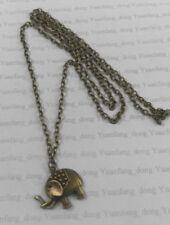 Markenlose Modeschmuck-Halsketten & -Anhänger aus Bronze Elefanten