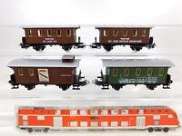 CA861-0,5# 4x Primex/Märklin H0/AC Personenwagen etc aus Jubiläumszug 2750, NEUW
