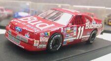 Quartzo 1:43 Diecast NASCAR Bill Elliott Budwiser Ford Thunderbird w case