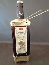 Vintage Mr Tilford Whiskey Bottle Music Box by Swiss Harmony (Empty)(Cat.#1A006)
