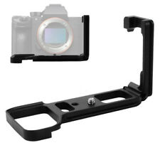 Bracket Quick Release L Plate Cradle Support Rack Fit For Sony A7RIII A7III A9