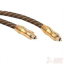 6ft Premium Toslink Fiber Optic Digital Audio Optical Cable S/PDIF Cord Wire