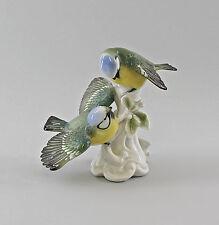 Porzellanfigur Vogel Meisen-Gruppe Ens H13,5cm 9997555