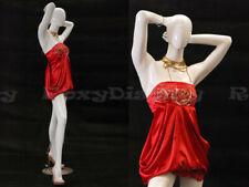 Female EggHead Fiberglass mannequin Dress Form Display #Md-C4
