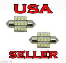 DE3175 31mm Auto LED Interior Dome Festoon Light Bulbs HYPER White *USA SELER*