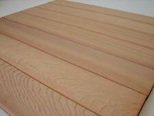 10 Western Red Cedar Zedernholz Profilbretter Grillbretter 600x95x18mm Abschnitt