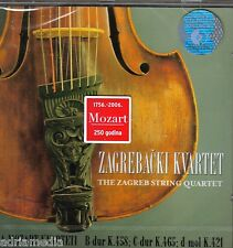 ZAGREBACKI KVARTET CD The Zagreb String Quartet Wolfgang Amadeus Mozart 250 year