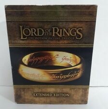 The Lord Of The Rings Motion Picture Trilogy Blu-ray Disc Extended Edition 2011