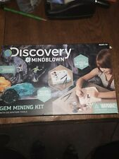 Discovery Mindblown Gem Mining Kit with Excavation Tools NEW-GREAT GIFT