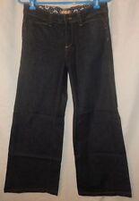 PAIGE Premium Denim Dark Jeans Hillhurst Wide Leg Flap Pocket Trouser 29 x 29.5