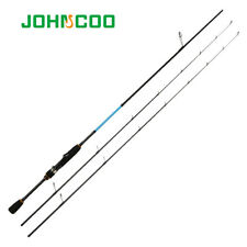 UL/L Spinning Rod Solid tip 6'3'' Fast Action Carbon rod K ring UL Fishing rod
