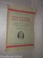 GUIDA ALLO STUDIO DELL ENEIDE Giuseppe Basilone Federico & Ardia 1947 libro di