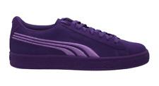 PUMA Suede Jr Purple Kids Fashion Sneaker Size 5