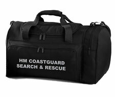 1 x HM COASTGUARD SEARCH & RESCUE Black Holdall Work Bag Ideal for RNLI