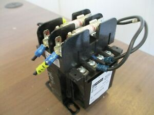 Cutler-Hammer Control Transformer C0050E3AFB 50VA Pri: 208/277V Sec: 120V Used