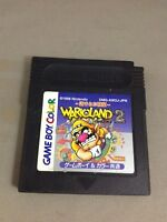 40125 Wario Land 2 Nintendo Game Boy Color Japan