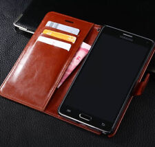 Luxury Lichee Leather Wallet Cover Case For Samsung Galaxy Note 2 N7100