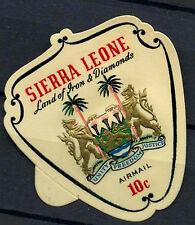Sierra Leone 1969 SG#433b 10c Arms Self Adhesive MNH #D17514